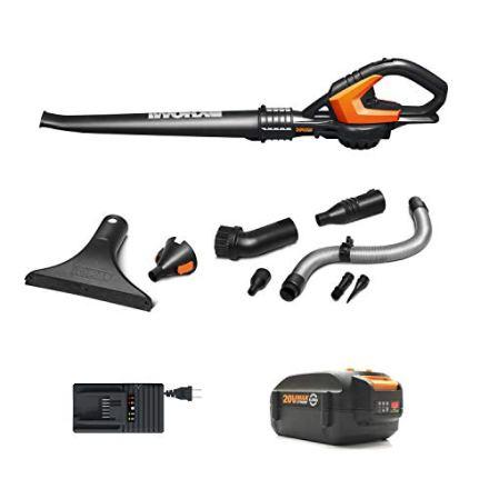 WORX WG545.4 Cordless Hi-Capacity Blower