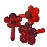 Set of 3 Parasol Flower Feeding Tubes