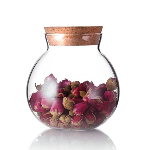 Beautiful round storage jar