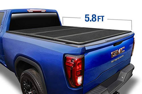 Tyger Auto T5 Alloy Hard Top Tonneau Cover TG-BC5C1006 Works with 2014-2019 Chevy Silverado/GMC Sierra 1500 | Fleetside 5.8' Short Bed | Without Utility Track System