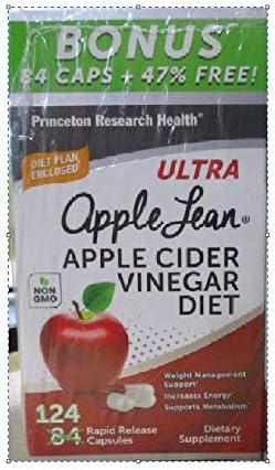 AppleLeanTM Cider Vinegar Diet Complex Supplement, 124 Count 1