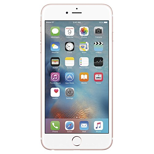 Apple iPhone 6S, Fully Unlocked, 128GB - Rose Gold (Renewed)