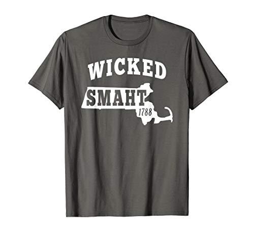 Wicked Smaht Tshirt Boston MA Gifts Chowda t shirt
