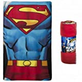 Official DC Comics Superman Fleece Blanket