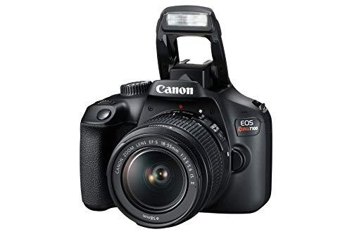 Câmera Digital EOS Rebel T100 18-55mm f/3.5-5.6 IS II BR, Canon, Preto