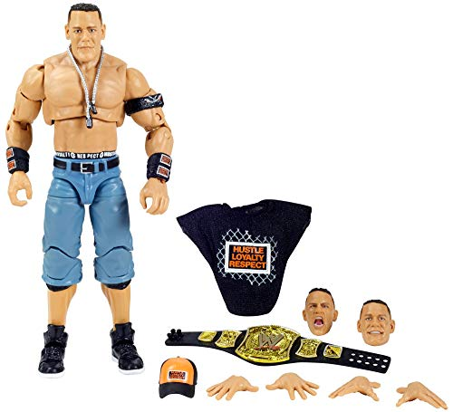 Wwe John Cena Ultimate Edition Wave 5 Multiple Pose 6 Inch Action Figure With Entrance Gear Extra Heads Swappable Hands