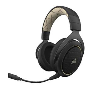 Corsair CA- 9011178-AP HS70 7.1 Surround Sound Wireless Gaming Headset – Special Edition Gold
