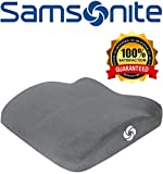 Samsonite SA5454 Ergonomic Soft Seat Cushion with 100% Pure Memory Foam