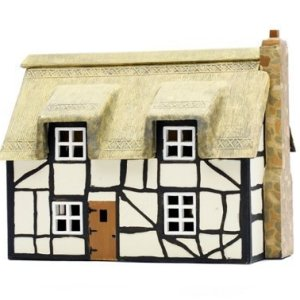 Dapol Model Railway Thatched Cottage Plastic Kit – OO Scale 1/76 by Dapol 41kY 2BUkZpYL