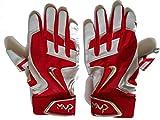 Nike GB0376 MVP Elite Pro 2.0 Batting Gloves - Red/White