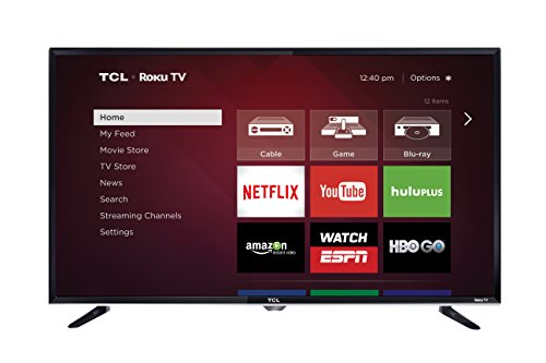 TCL 32S3800 32 Inch 720p Roku Smart LED TV (2015 Model)  Image of 41kaolKUqdL