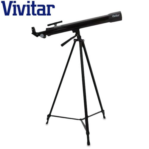 Vivitar 75x/150x Refractor Telescope with Full-Sized Adjustable Tripod - Great Beginner Telescope