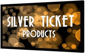 Silver-Ticket-Products-STR-Series-6-Piece-Home-Theater-Fixed-Frame-4K-8K-Ultra-HD-HDTV-HDR-Active-3D-Movie-Projection-Screen-169-Format-120-Diagonal-Silver-Material-STR-169120-S