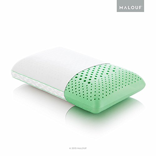 Z ZONED DOUGH Memory Foam Pillow Inflused with Real Peppermint - Natural Peppermint Oil