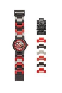 LEGO Watches and Clocks Boy's 'Star Wars Kylo Ren' Quartz Plastic Casual watch, Color:Black (Model: 8020998)