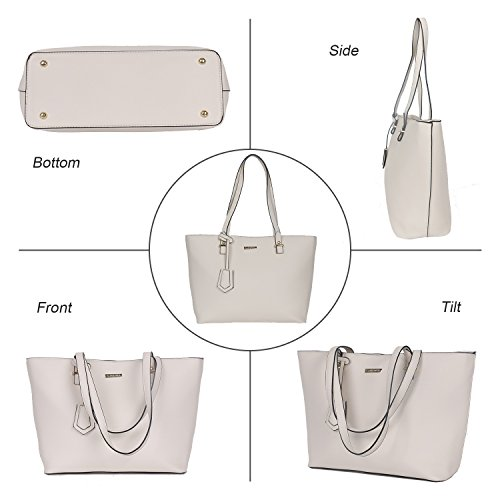 afc43b21a1e2 ELIMPAUL Women Fashion Handbags Tote Bag Shoulder Bag Top Handle ...