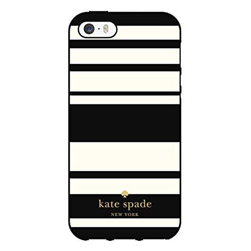 Kate Spade New York Flexible HardShell Case for Apple iPhone 5/5S (Fairmont Stri