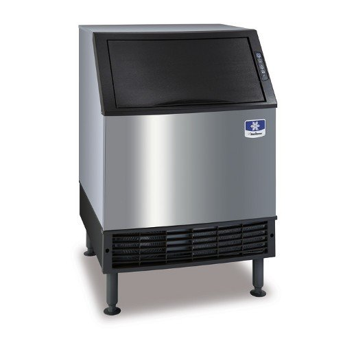 Manitowoc UDF0140A NEO 26' Air Cooled Undercounter Dice Cube Ice Machine with 90 lb. Bin - 115V, 135 lb