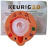 Keurig 4335457458 B01MXFTW88 2.0 Needle Cleaning Tool, kkk Orange (2 Pack)
