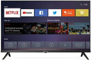 Caixun C32 32-Inch 720p Smart LED HD TV – Flat Screen Television Built-in HDMI,USB,Earphone,Optical,Ethernet Ports – Support Screen Cast Mirroring – Refresh Rate 60Hz (2020 Model)