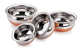 SKARS-Stainless-Steel-Copper-Handi-Set-250ml-500ml-1000ml-and-1500ml-4-Piece-Silver