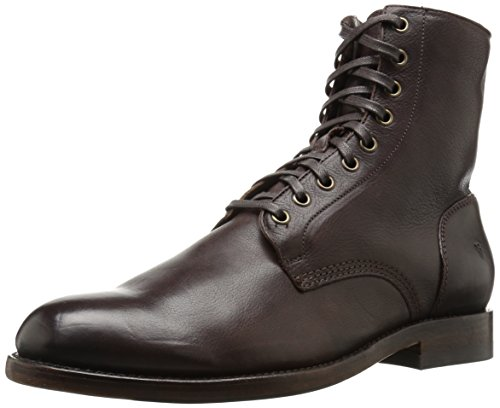 FRYE Men's Will Lace Up Combat Boot, 87134-Khaki, 10 D US