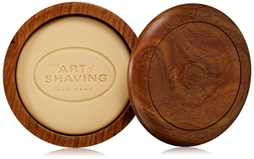 41l7mgyh7aL Unscented Hypoallergenic Shaving Soap Classic shaving soap for the traditional wet shaving experience Generates a rich lather. The lather protects the skin and softens the beard while providing an extremely close shave