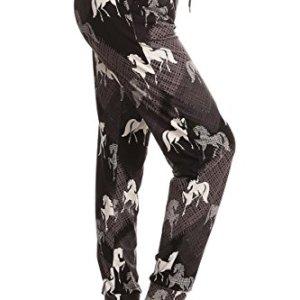 Leggings Depot Premium Women's Joggers Popular Print High Waist Track Pants (S-XL) BAT5