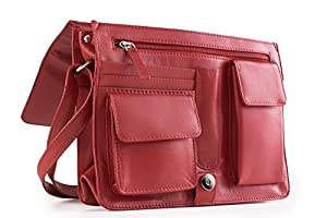 Visconti Womens Flap-over Shoulder, Crossbody Bag and Messenger Bag