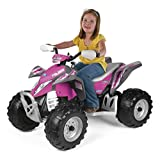 Peg Perego Polaris Outlaw Power Children's Ride on Toy, Pink