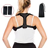 Posture-Corrector-for-Women-Men, Comfortable Posture Brace and Back Straightener for Relief Thoracic Orthopedic Kyphosis Shoulder Upper Back Pain, Back Posture Brace for Slounching & Hunching
