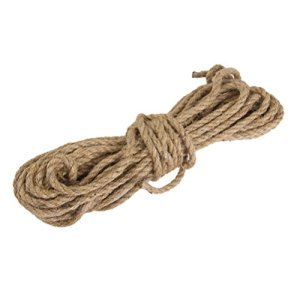 15 metros de cuerda trenzada de camo de yute - Cuerda Caamo