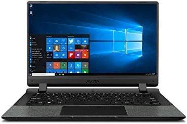 AVITA Essential NE14A2INC433-MB 14″ (35.56cms) Laptop (Celeron N4000/4GB/128GB SSD/Window 10 Home in S Mode/Integrated Graphics), Matt Black