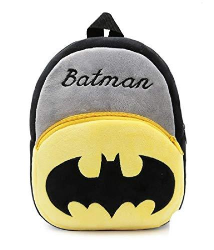 41lOV47iFtL - Black Hill Cute Kids Backpack Toddler Bag Plush Animal Cartoon Mini Travel Bag for Baby Girl Boy 1-6 Years (Batman)
