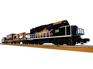 Lionel-Hot-Wheels-Electric-O-Gauge-Model-Train-Set-w-Remote-and-Bluetooth-Capability