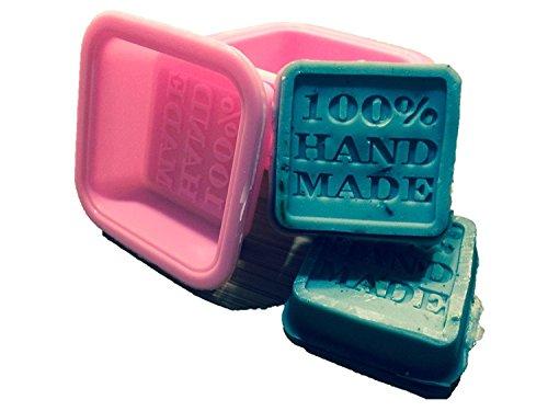 10 Soap Molds Square Silicon