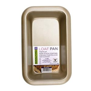 Royalford Loaf Pan 28X17.5X6Cm, 0.5MM, Premium Spring Form Cake Tin Pan for Home and Restaurant Use 41lZ5tQjl1L