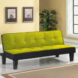 Acme 57039 Hamar Microfiber Adjustable Sofa, Green