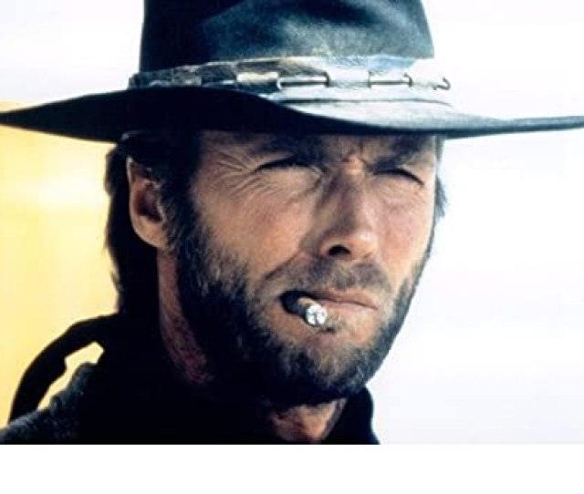 Clint Eastwood X Poster Iconic With Cigar High Plains Drifter