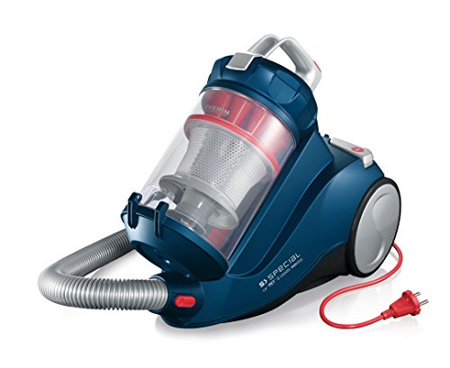 Severin Germany Special Bagless Vacuum Cleaner, Corded (Ocean Blue)