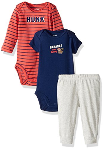 Carter's Baby Boys' Little Character Sets 126g592, Heather, 24 Months