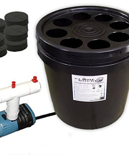 8 Site Aeroponic Plant Cloner - Clone Bucket 8 Black Edition From Hydro West