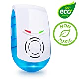 Ultrasonic Pest Repeller Plug in – Electronic Indoor Spider, Mouse, Rat, Roach, Rodent, Mosquito and Insect Pest Control Device w/Night Light (1 Pk)
