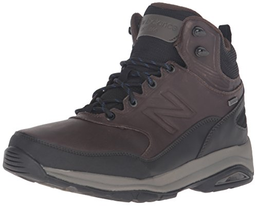 New Balance Men's MW1400v1 Walking Shoe, Dark Brown, 10 2E US