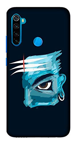 Mott2 Back Case for Xiaomi Redmi Note 8 - Printed Designer Hard Plastic Case - Mahadev Theme - XIMRN8_CR7_16 102