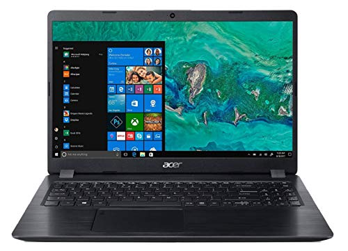 Acer Aspire 5S Core i5-8265U 8th gen 15.6-inch Full HD Thin and Light Laptop (8GB/16GB Optane/1 TB HDD/2GB NVIDIA GeForce MX130 Graphics/Microsoft Office 2016/Win10/Obsidian Black/1.8 kg), A515-52G 63