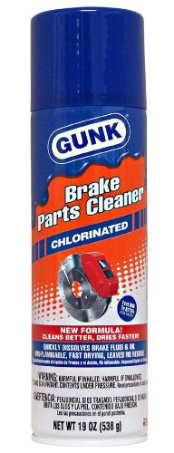 Gunk M720-12PK Clear 19 Ounce, (Case of 12) Brake Parts Cleaner Pack