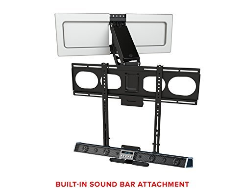 Mantelmount Mm540 Pull Down Tv Mount Above Fireplace For 44 80 Tvs Over Mantel Gear Store