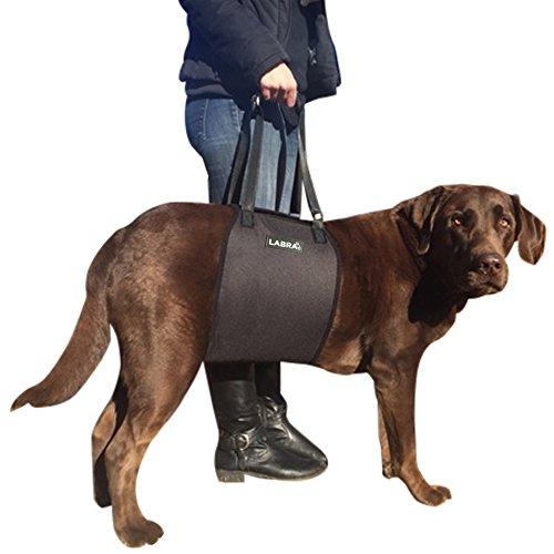 Labra Veterinarian Approved Dog Canine K9 Sling Lift Adjustable Straps Support...