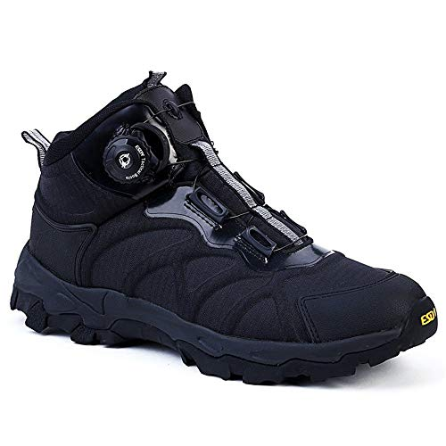 NEW VIEW Military Men BOA Lacing System Tactical Boots Quick Reaction Shoes Hiking Shoes Male Sports Shoes (Color : 01, Size : 11)